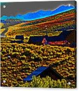Bodie Sunset Acrylic Print