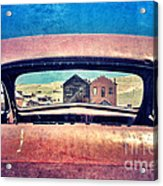 Bodie Through Car Window Acrylic Print