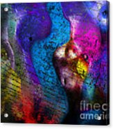 Bodies Colorful Acrylic Print