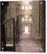 Bodmin Jail Looking In Acrylic Print