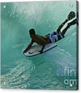 Body Surfer Acrylic Print