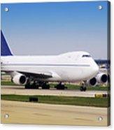 Boeing 747 Cargo Airplane Acrylic Print