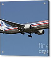 Boeing 767 Of American Airlines Acrylic Print