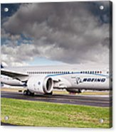 Boeing Dreamliner 787 Acrylic Print