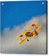 Boeing N2s Acrylic Print