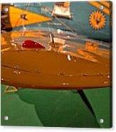 Boeing P26 Peashooter Wing Acrylic Print