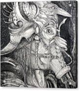 Bogomils Duckhunting Mask Acrylic Print