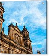 Bogota Cathedral Front Acrylic Print