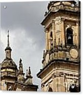Bogota Cathedral Towers Acrylic Print