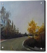Bogus Basin Road Acrylic Print