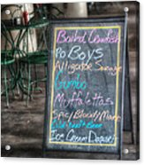 Boiled Crawfish Special Acrylic Print