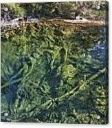 Boiling Emerald Pools Acrylic Print