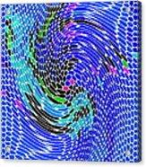 Bold And Colorful Phone Case Artwork Designs By Carole Spandau Cbs Art Angel Fish 112 Acrylic Print
