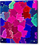 Bold And Colorful Phone Case Artwork Designs By Carole Spandau Cbs Art Exclusives 110 Acrylic Print