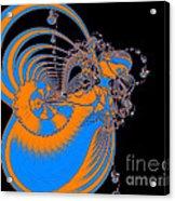 Bold Energy Abstract Digital Art Prints Acrylic Print