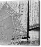 Boldt Castle Umbrella Acrylic Print