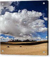 Bolivia Cloud Valley Acrylic Print