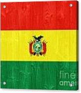 Bolivia Flag Acrylic Print