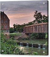 Burfordville Mill Acrylic Print