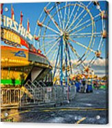 Bolton Fall Fair 3 Acrylic Print