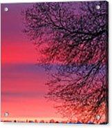 Bolton Sunset Acrylic Print