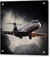 Bombardier Landing Acrylic Print