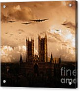Bomber Country  Acrylic Print