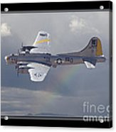 Bomber Acrylic Print