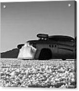 Bombshell Buick - Metal And Speed Acrylic Print