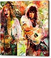 Bon Jovi Original  Acrylic Print