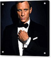 Bond - Portrait Acrylic Print