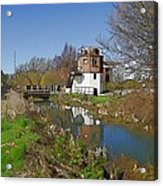 Bonds Mill Area Stroudwater Canal Acrylic Print