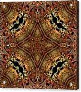 Bone Tapestry Acrylic Print