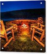 Bonfire Acrylic Print