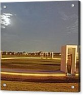 Bonfire Memorial Acrylic Print