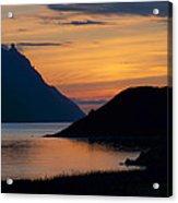 Bonne Bay Sunset Acrylic Print