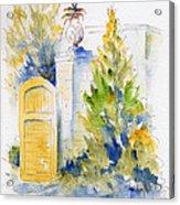 Bonnet House Garden Gate Acrylic Print