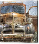 Bonnie And Clyde Acrylic Print by Debra and Dave Vanderlaan
