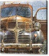 Bonnie And Clyde Acrylic Print