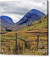 Bonny Scotland Acrylic Print