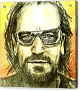 Bono - U2 Acrylic Print