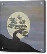 Bonzai Moon  Acrylic Print