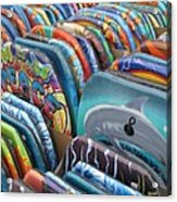 Boogie Boards Acrylic Print