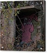 Boogie Monster Graffiti Acrylic Print