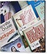 Book Fair In Steenwijk Netherlands Acrylic Print