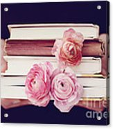 Book Love Acrylic Print