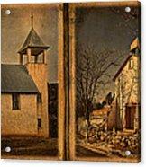 Book Of Churches Acrylic Print