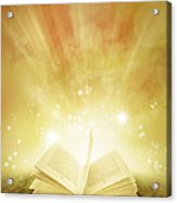Book Of Dreams Acrylic Print by Les Cunliffe