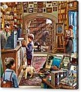 Bookshop Acrylic Print