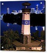Boom Island Light House Acrylic Print